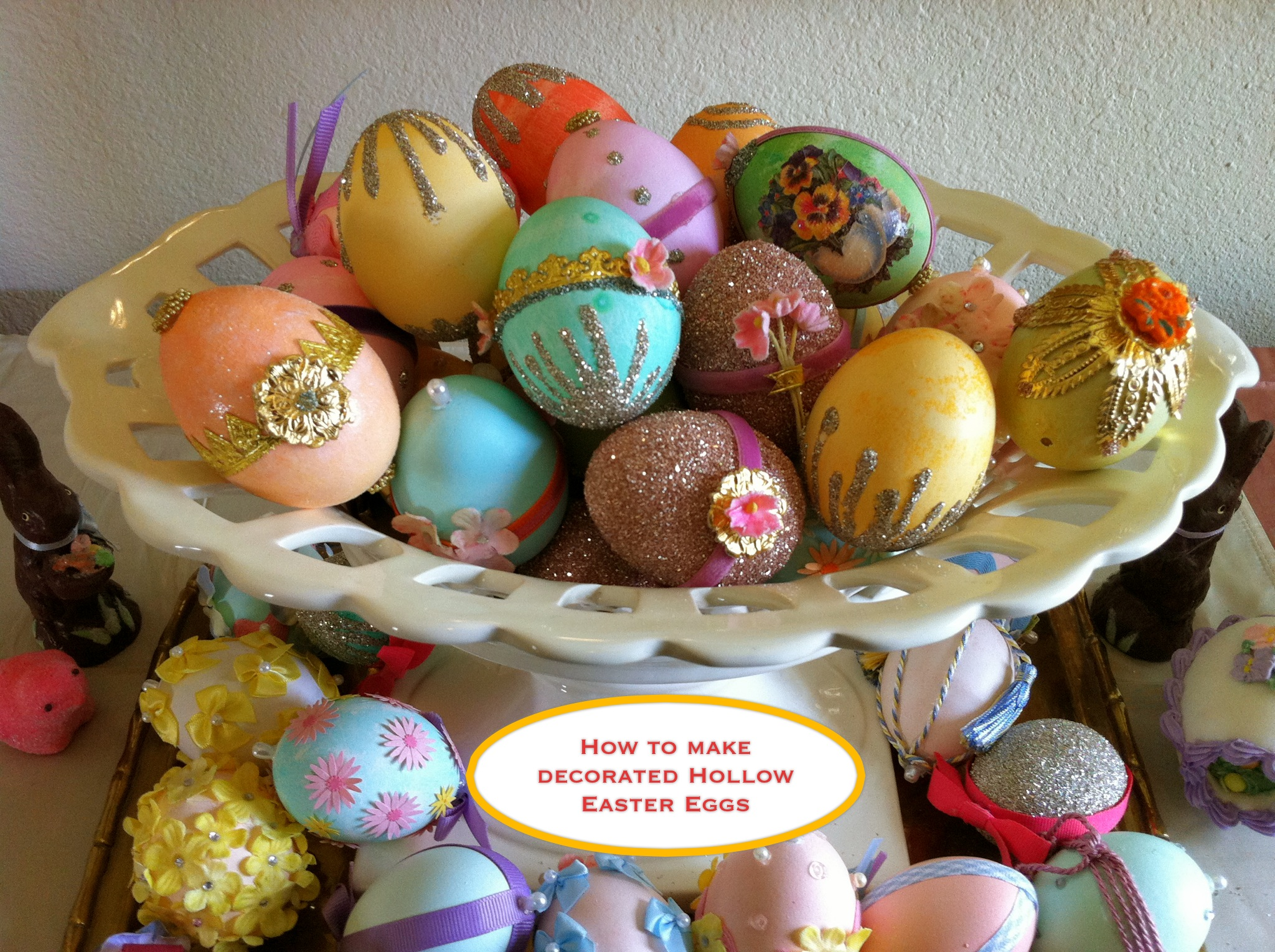 Making Decorated Hollow Easter Eggs How To Amp Sources
