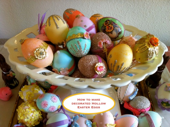Basket of Decorated Eggs