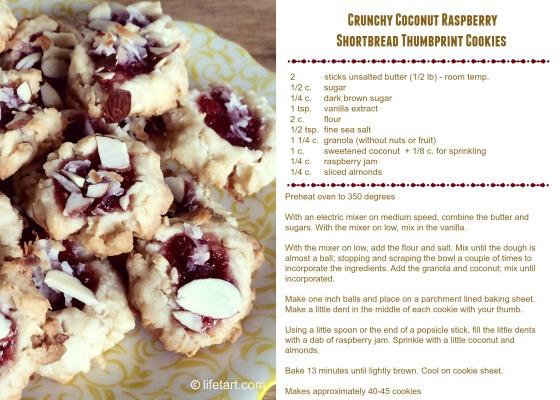 raspberry cookies blog